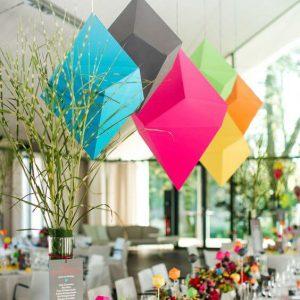 backdrop hoa trang trí sự kiện