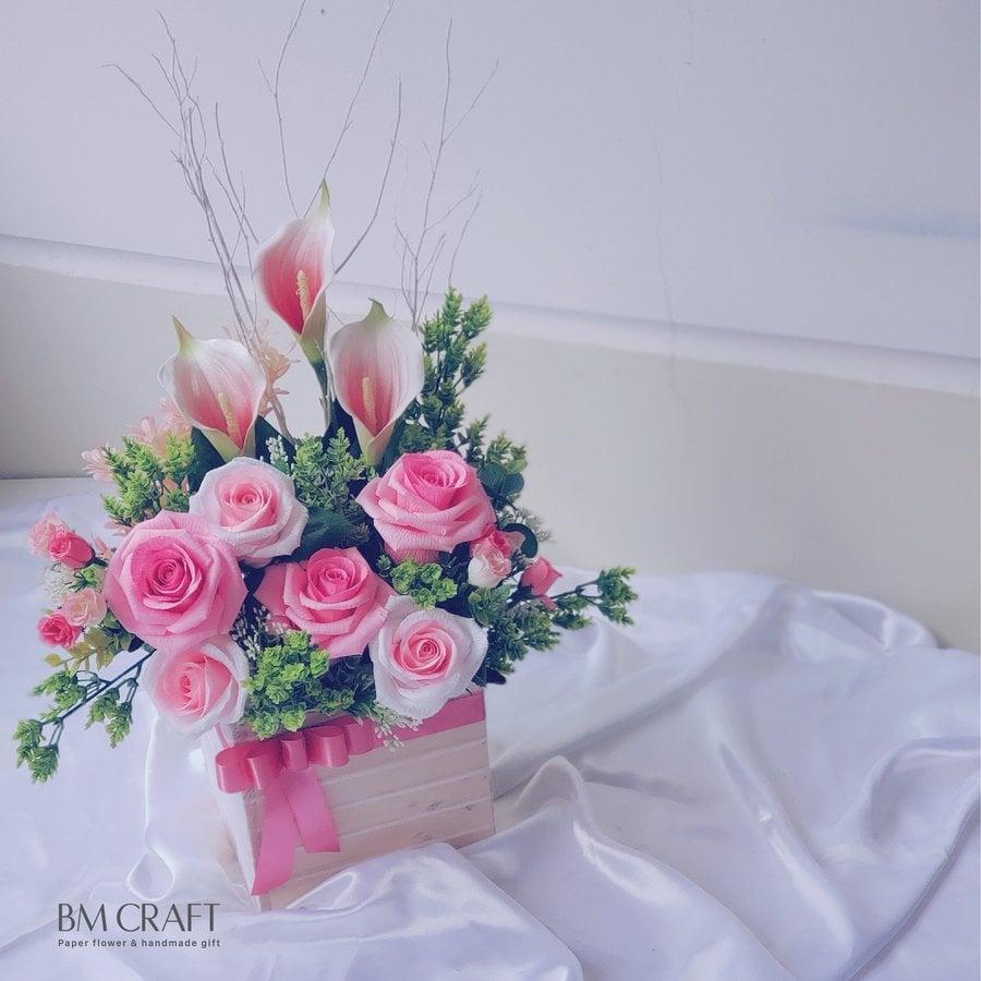 hoa giấy nghệ thuật