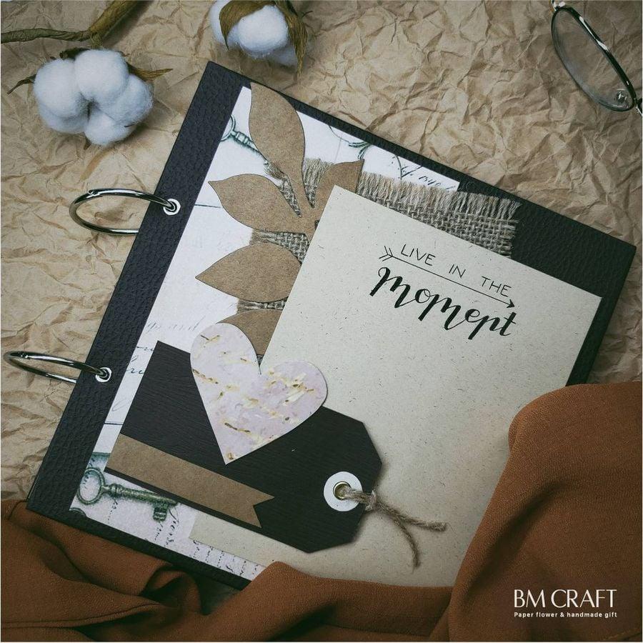 scrapbook handmade, album ảnh handmade