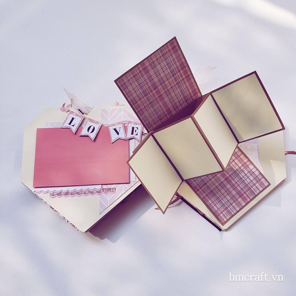scrapbook trái tim